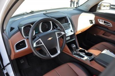 2016 Chevrolet EQUINOX LTZ Interior Saddle Brown 1