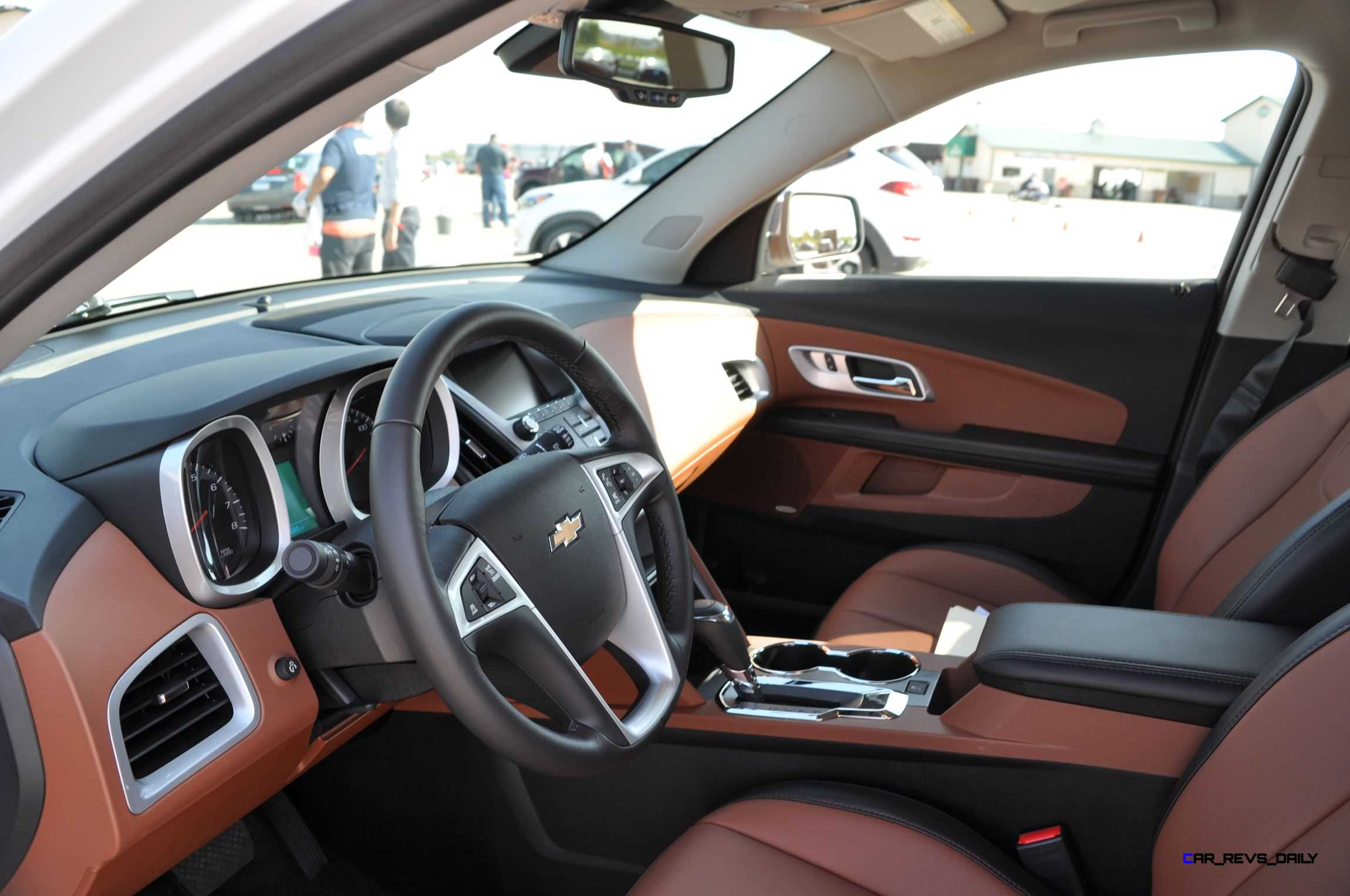 2016 Chevrolet Equinox Ltz Interior Saddle Brown 2
