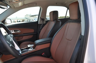2016 Chevrolet EQUINOX LTZ Interior Saddle Brown 3