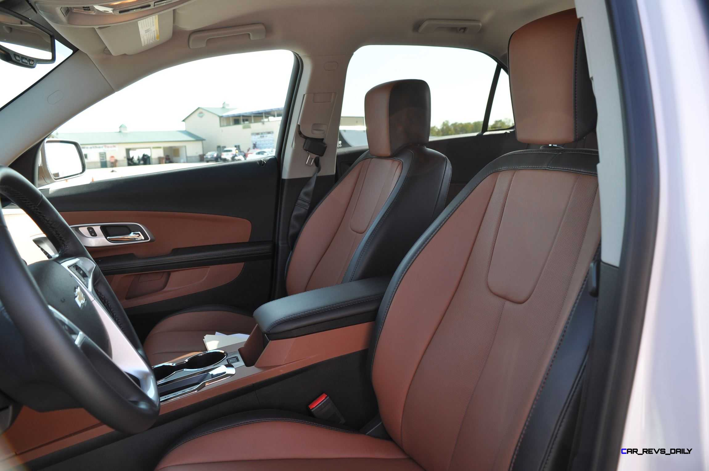 2016 Chevrolet Equinox Ltz Interior Saddle Brown 3