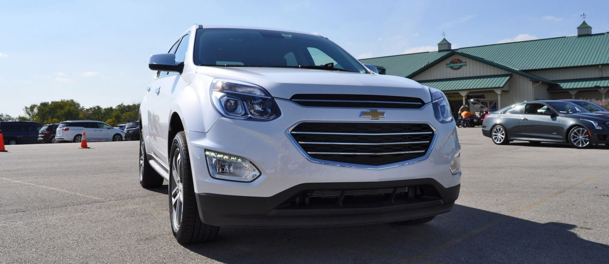 Creative 2016 Chevrolet EQUINOX  First Look At New LEDs Nose And Interior