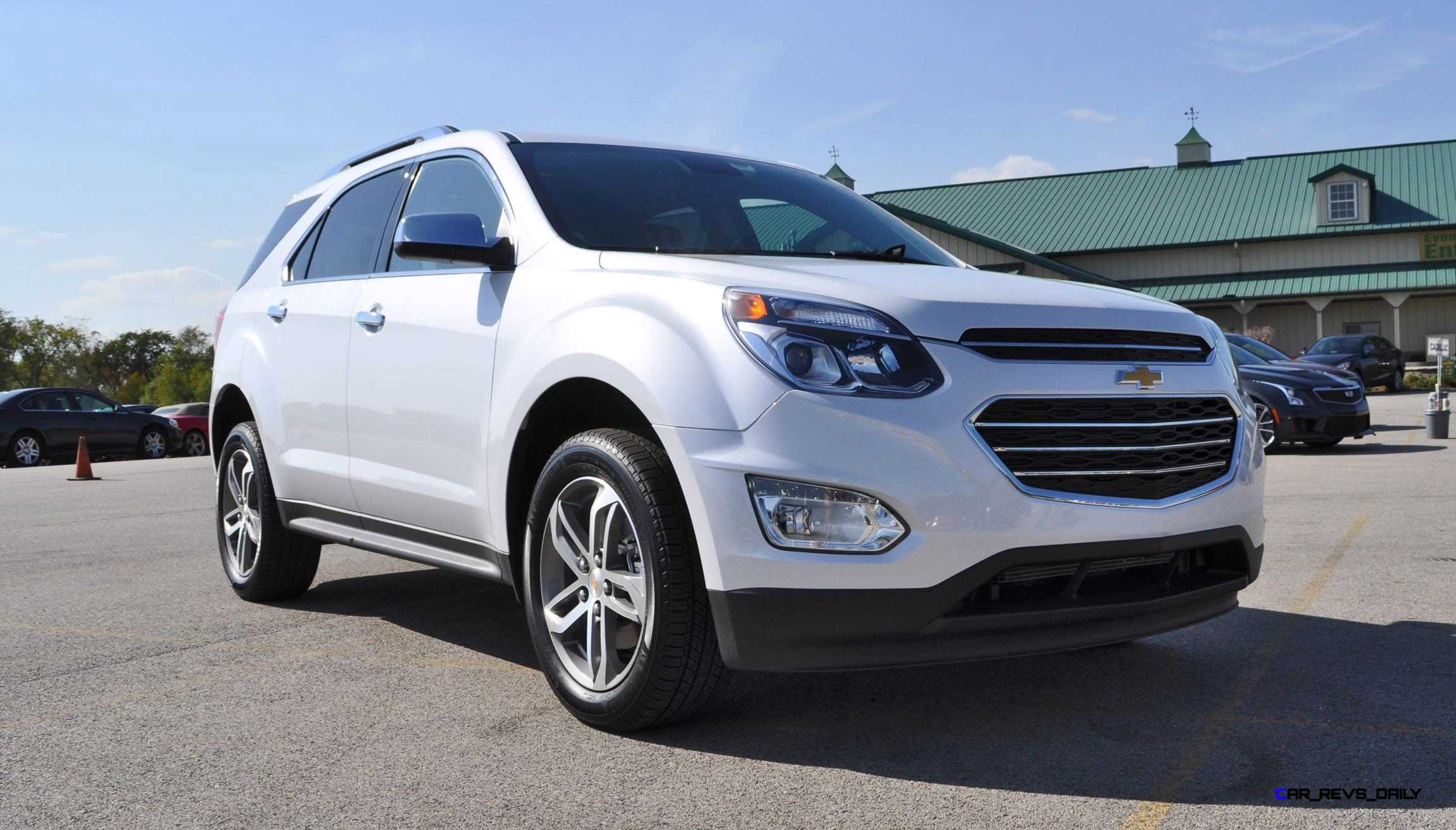 Luxury 2016 Chevrolet EQUINOX  First Look At New LEDs Nose And Interior
