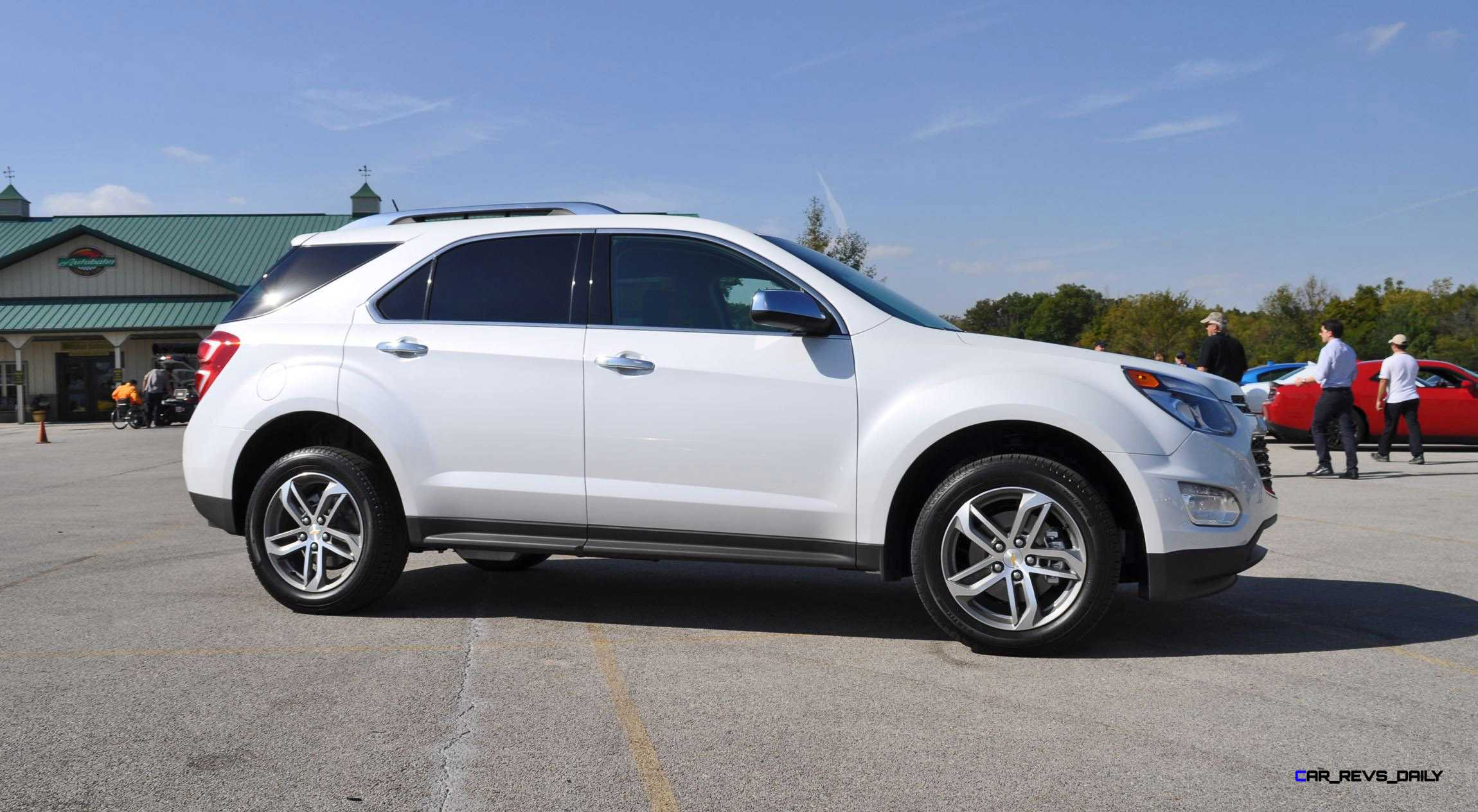 Brilliant 2016 Chevrolet EQUINOX  First Look At New LEDs Nose And Interior