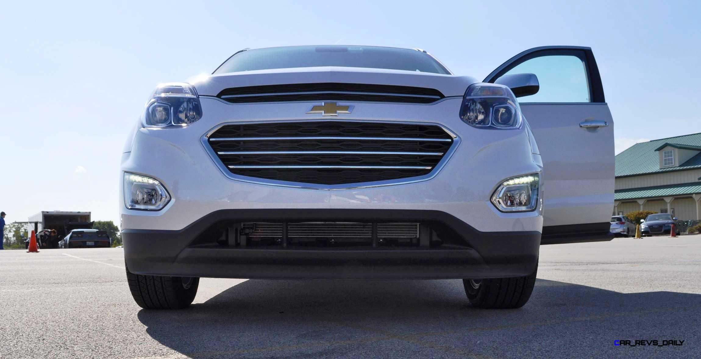 Innovative 2016 Chevrolet EQUINOX  First Look At New LEDs Nose And Interior