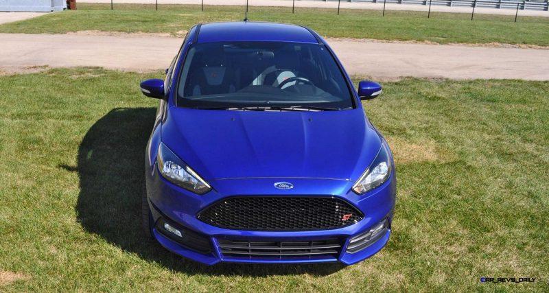 2016 Ford FOCUS ST Kona Blue 100