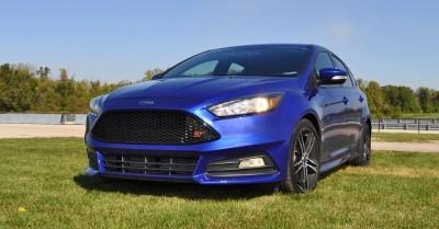 2016 Ford FOCUS ST Kona Blue 107