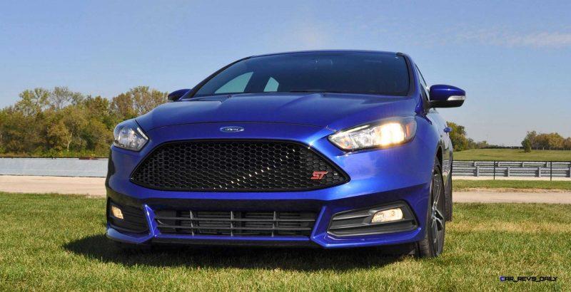2016 Ford FOCUS ST Kona Blue 108