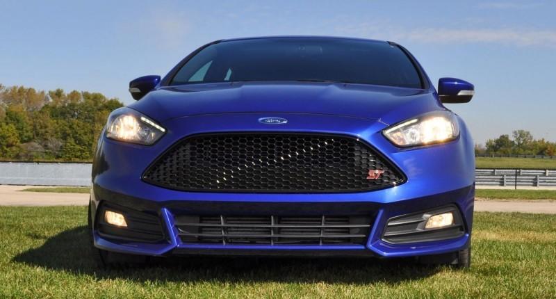 2016 Ford FOCUS ST Kona Blue 111
