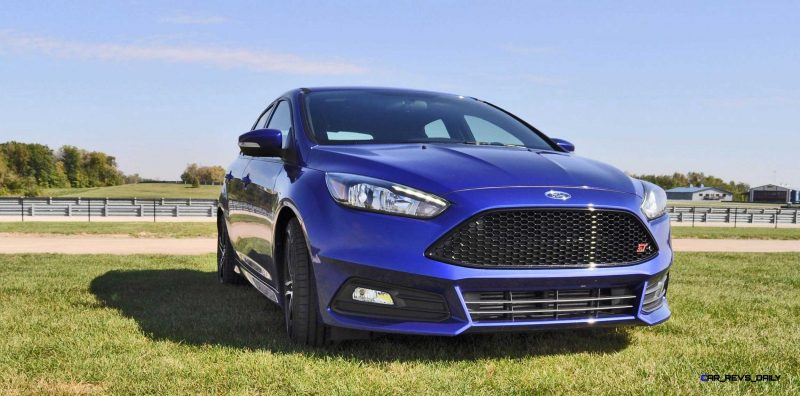 2016 Ford FOCUS ST Kona Blue 12