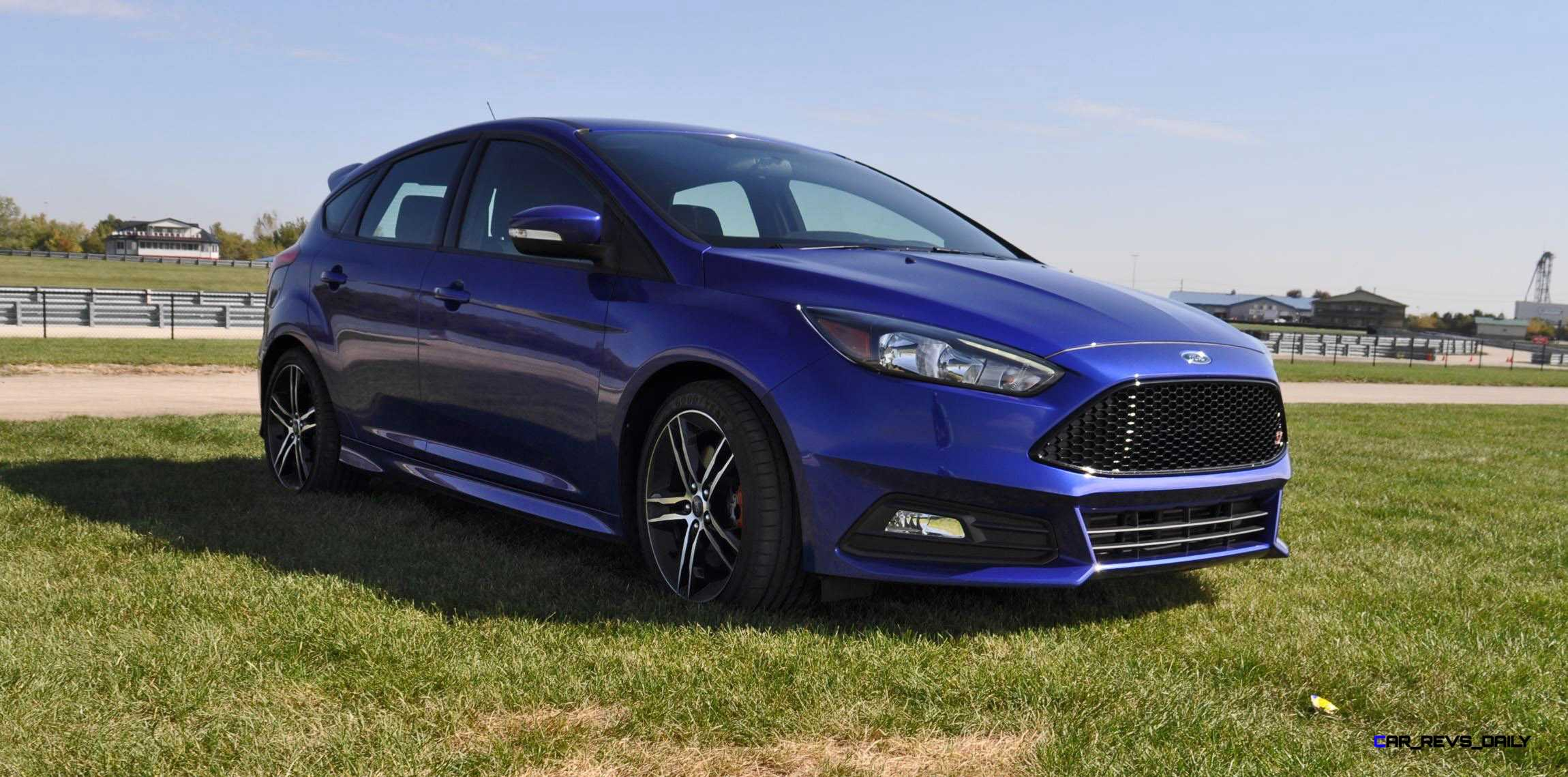 2016 ford focus st kona blue 15. Black Bedroom Furniture Sets. Home Design Ideas