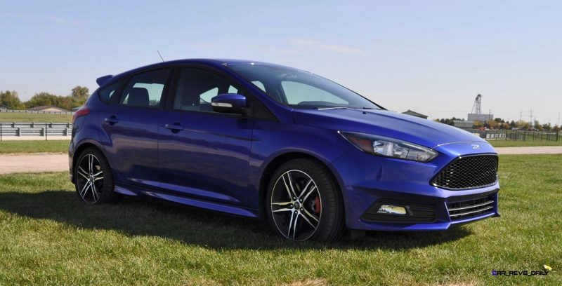 2016 Ford FOCUS ST Kona Blue 17