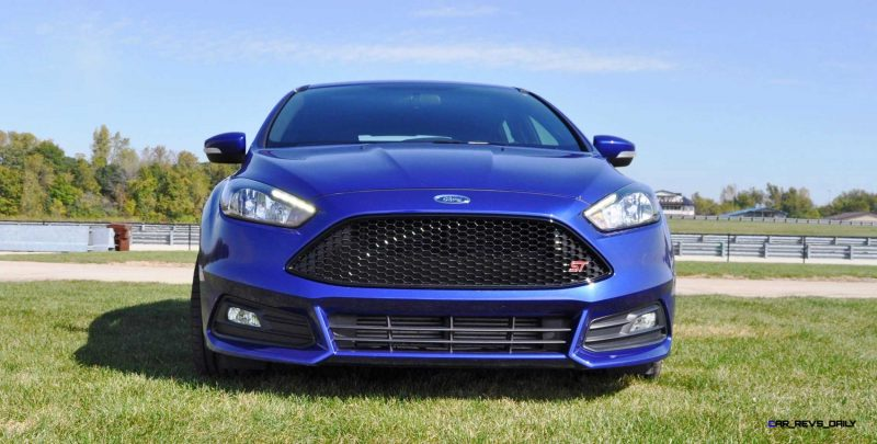 2016 Ford FOCUS ST Kona Blue 20
