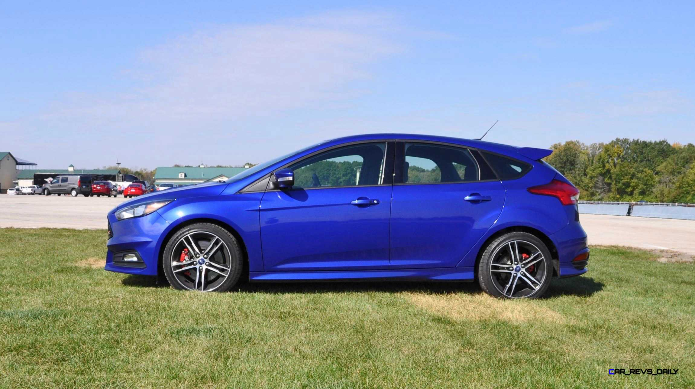 2016 ford focus st kona blue 48. Black Bedroom Furniture Sets. Home Design Ideas