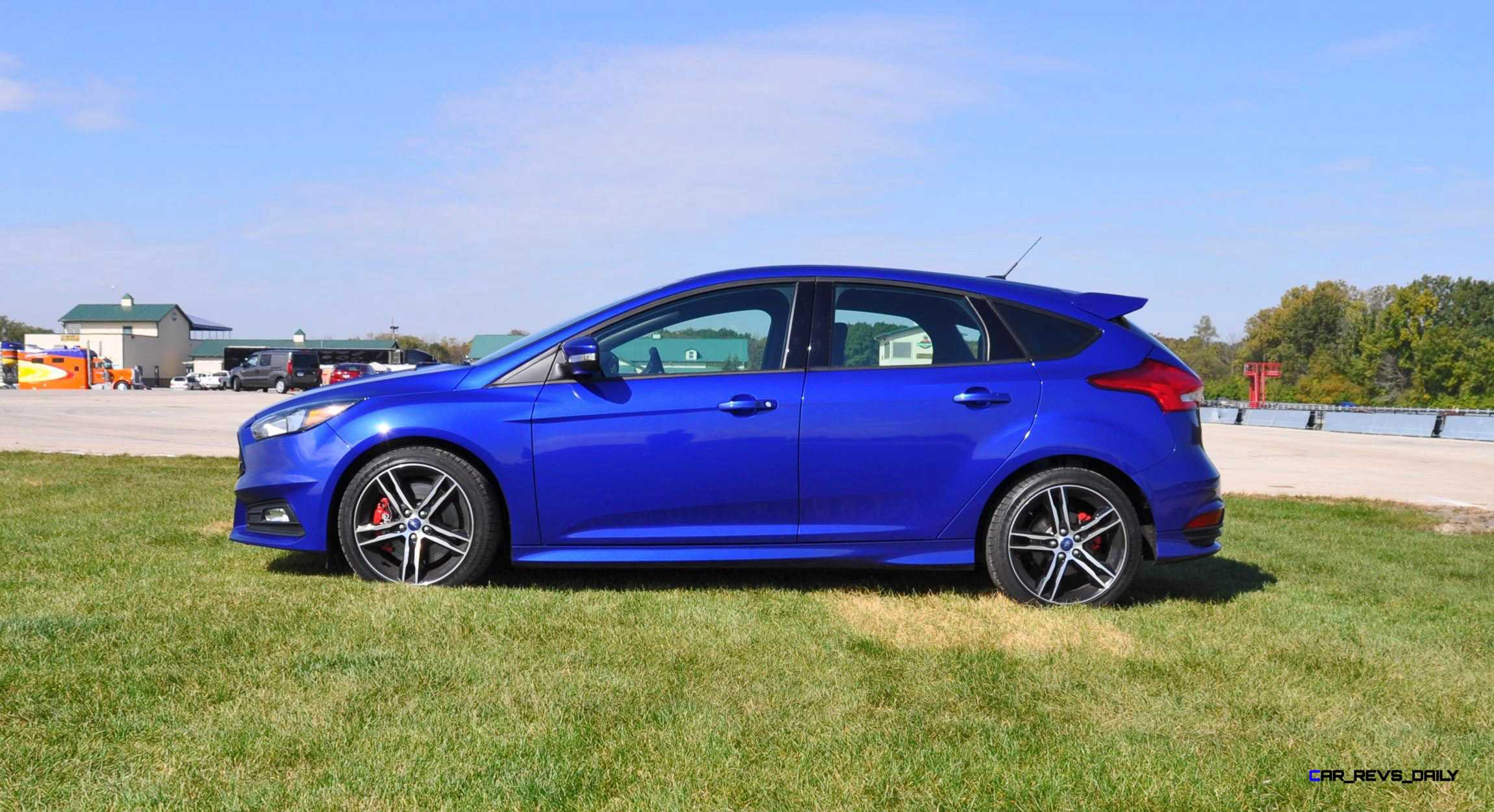 2016 ford focus st kona blue 49. Black Bedroom Furniture Sets. Home Design Ideas