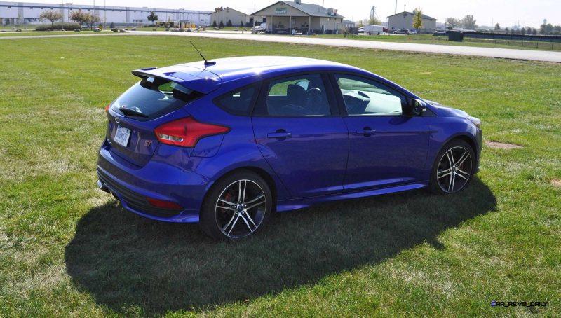 2016 Ford FOCUS ST Kona Blue 78
