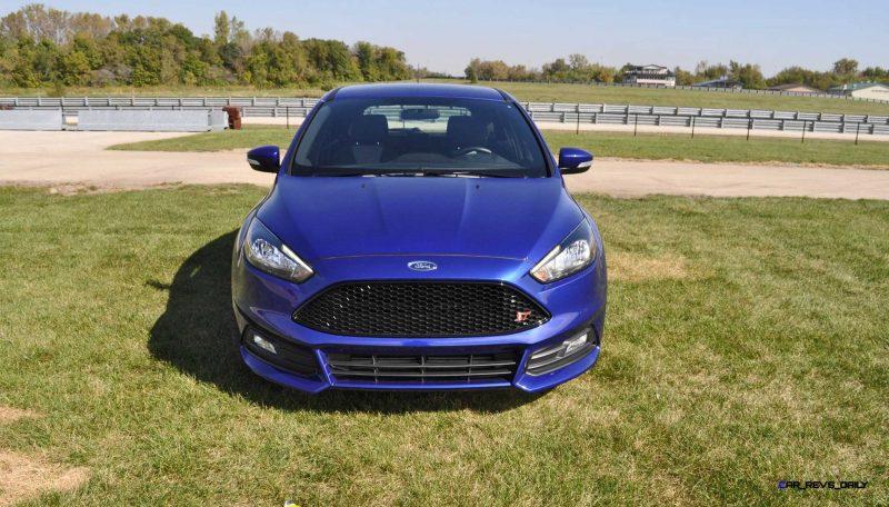 2016 Ford FOCUS ST Kona Blue 8