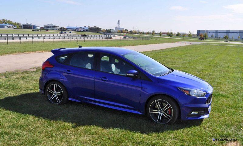 2016 Ford FOCUS ST Kona Blue 89