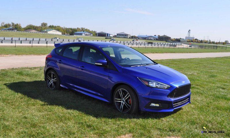 2016 Ford FOCUS ST Kona Blue 93