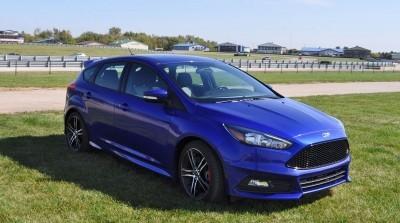 2016 Ford FOCUS ST Kona Blue 95