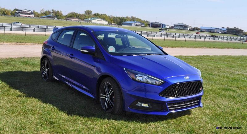 2016 Ford FOCUS ST Kona Blue 96