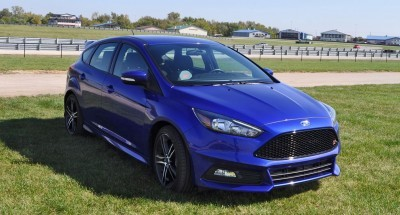 2016 Ford FOCUS ST Kona Blue 97
