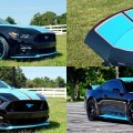The 2016 Mustang GT King Premier Convertible from Petty's Garage boasts up to 727-horsepower with a supercharged 5.0-liter V8, custom wheels, interior and paint, among several other modifications specified by Richard Petty.