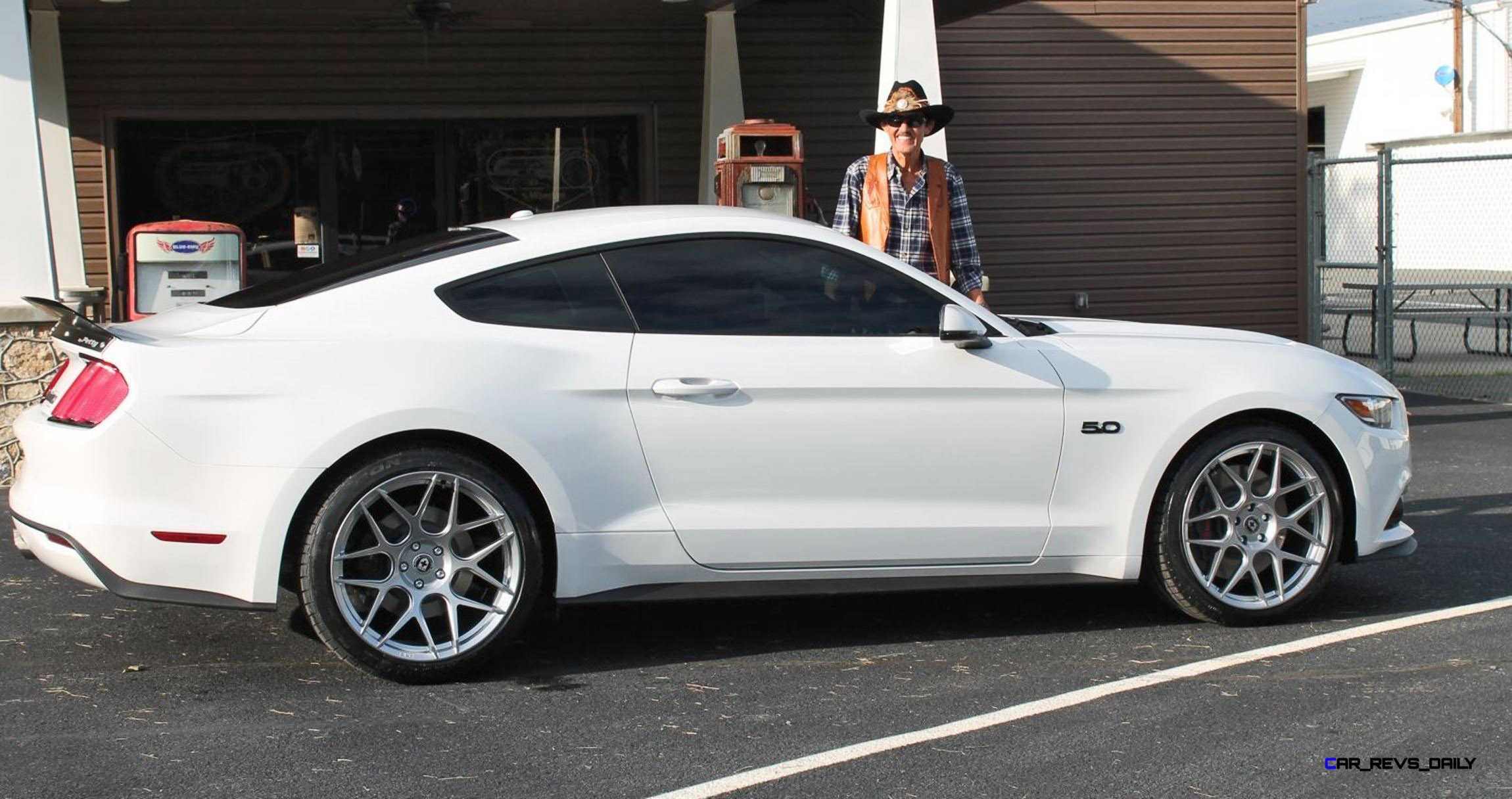 2016 Ford Mustang Gt King Edition White 11