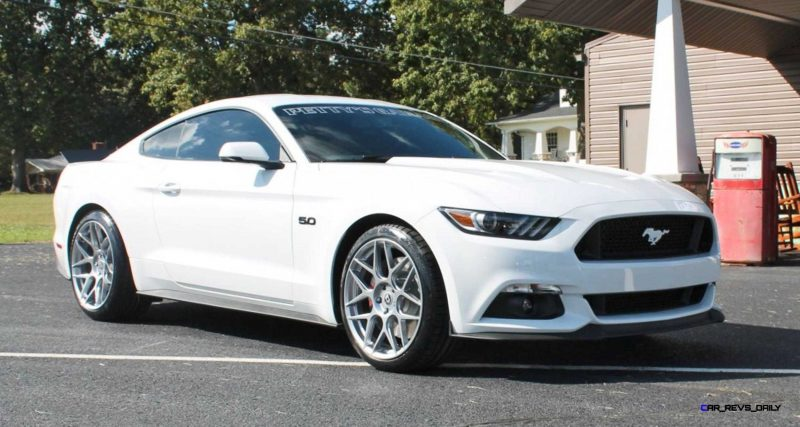 2016 Ford Mustang GT KING Edition White 4