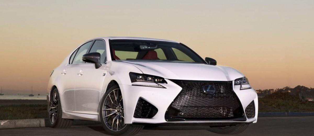 2016 Lexus GS-F 1