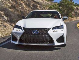 2016 Lexus GS-F Lands in USA! Showroom Sales From January with ~$66k Price, Standard TVD and Active Acoustics