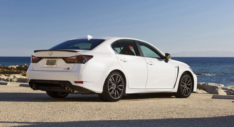 2016 Lexus GS-F 9