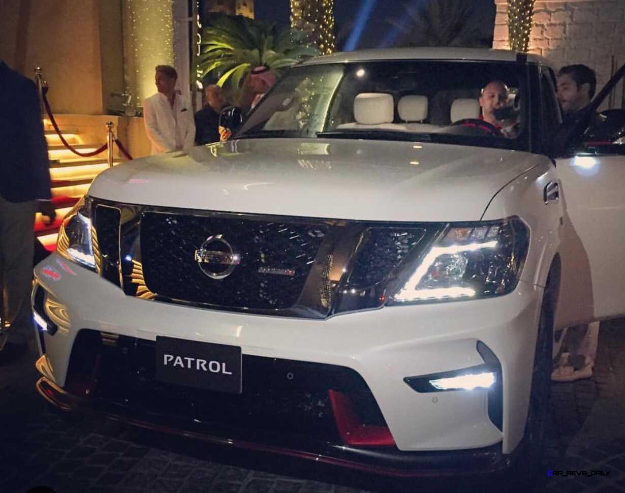 2016 Nissan Patrol Nismo