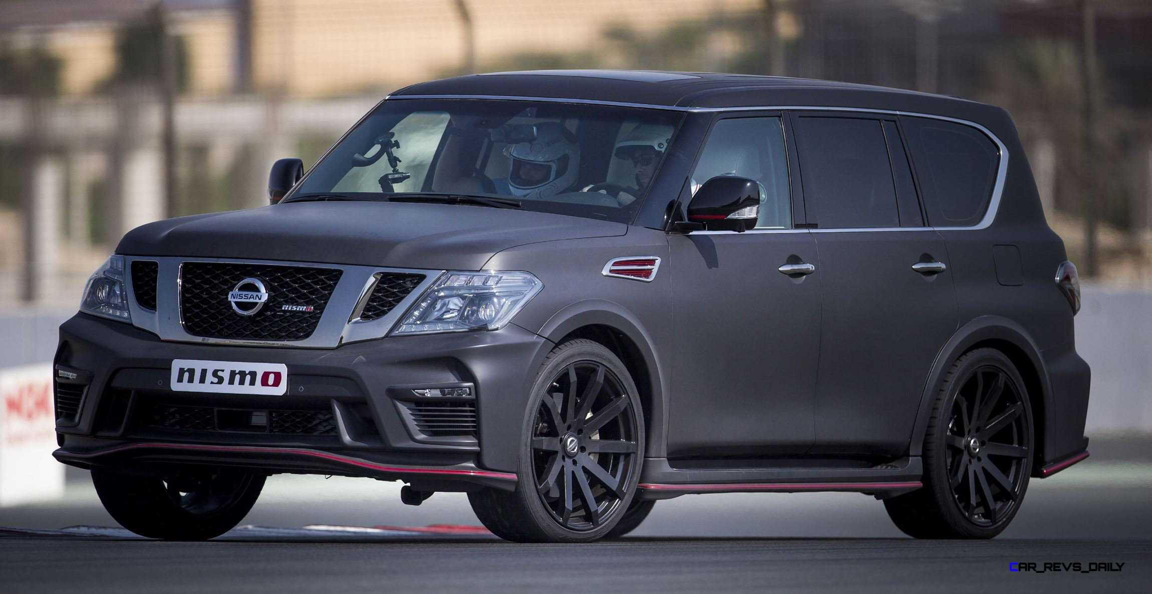 2016 Nissan Patrol Nismo Black 10