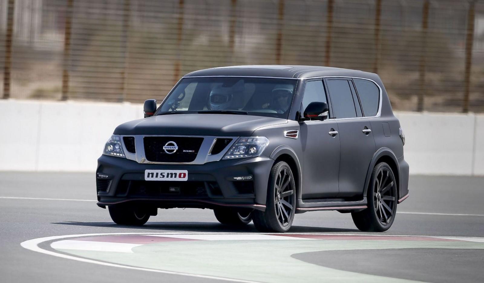 Patrol Nismo >> 2016 Nissan Patrol NISMO