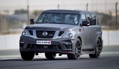 2016 Nissan Patrol NISMO Black 36