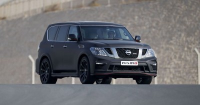 2016 Nissan Patrol NISMO Black 40