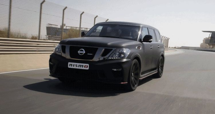 2016 Nissan Patrol NISMO black
