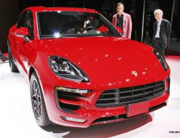 2016 Porsche Macan GTS Makes World Debut in Tokyo