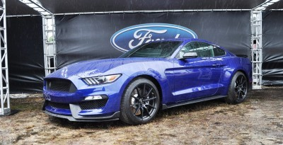2016 SHELBY GT350 Ford Mustangs Snapped in Flesh at Petit Le Mans 42