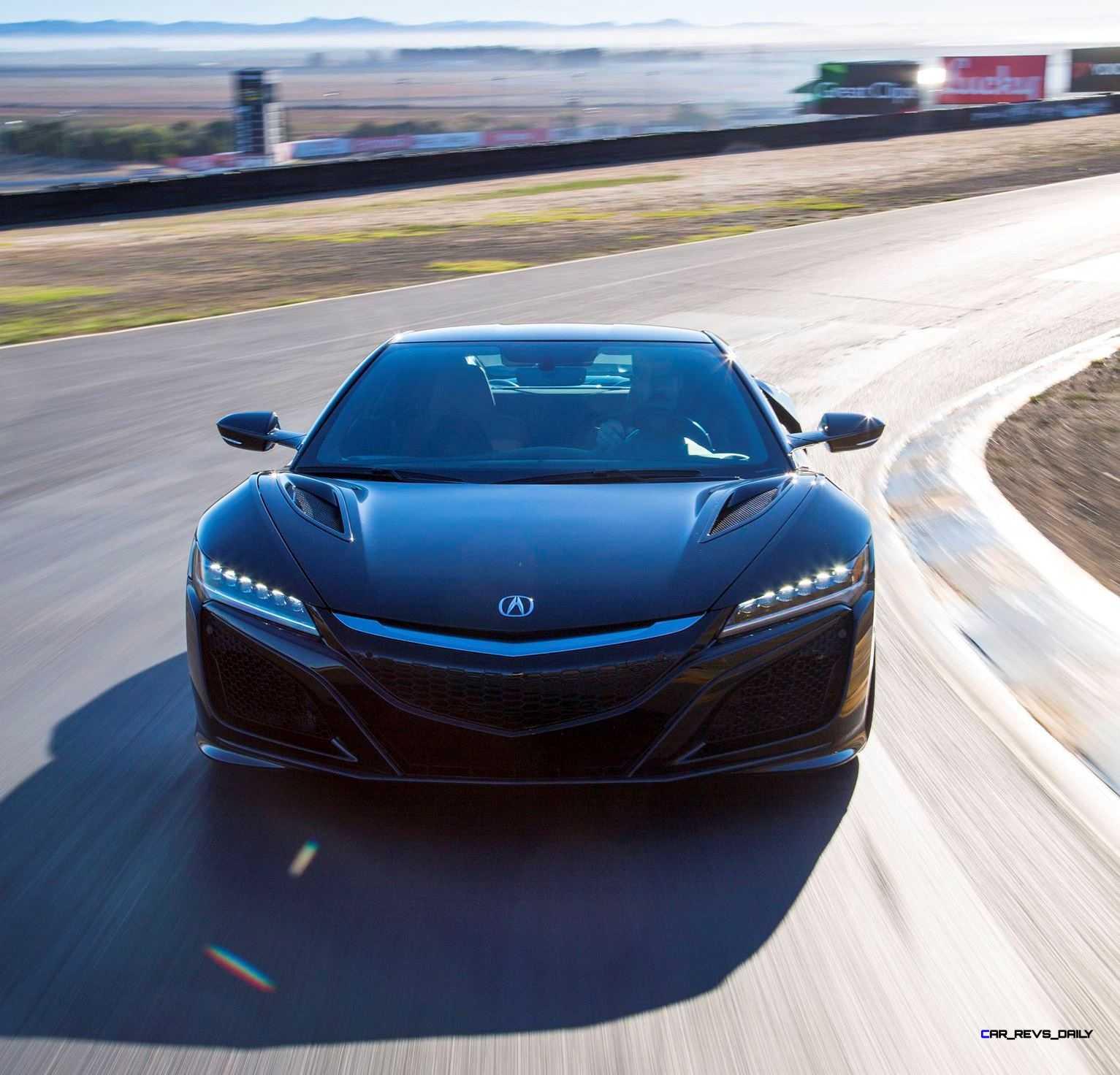 Acura Nsx: 2017 Acura NSX Tech Specs