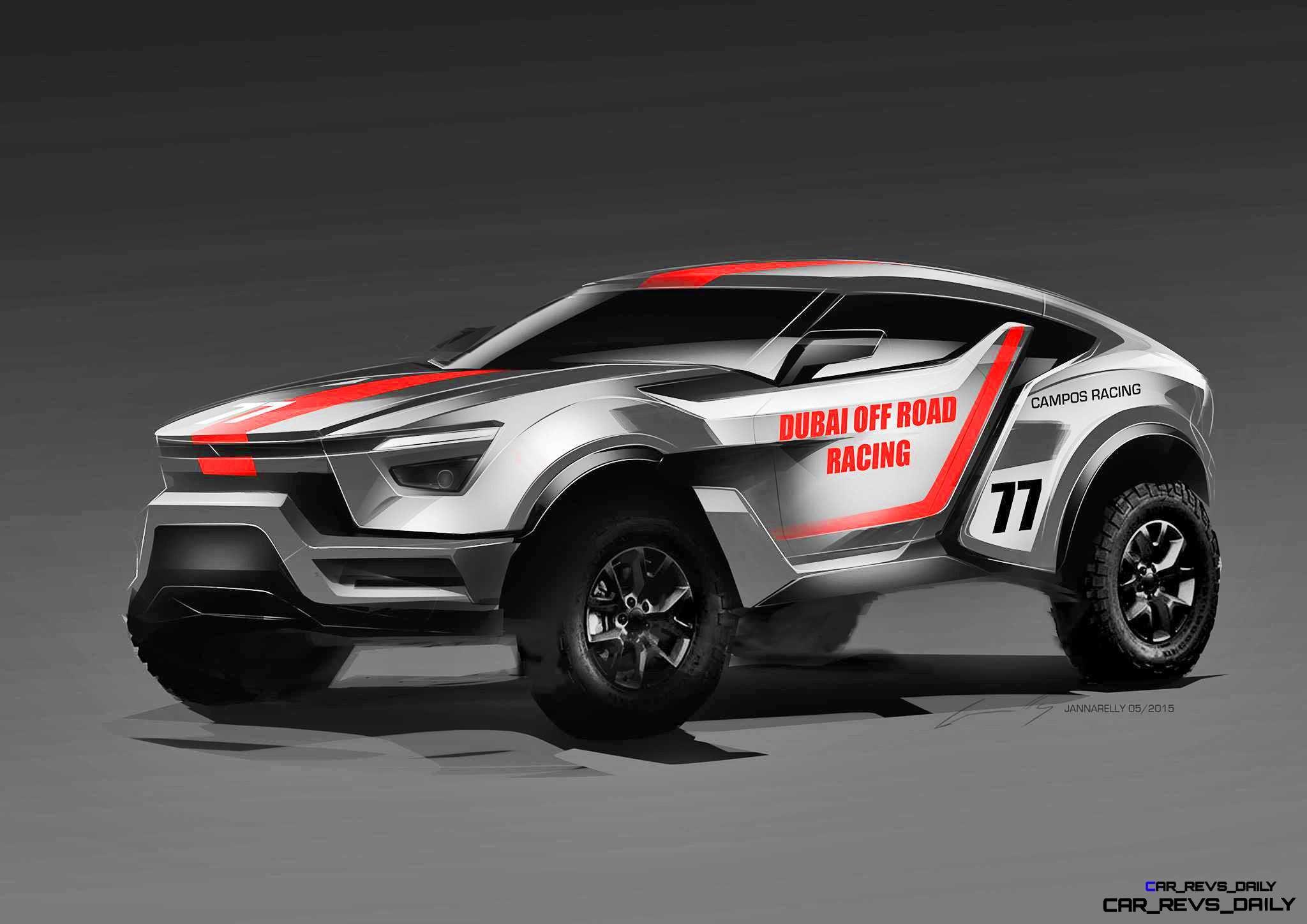 2017 Zarooq Sand Racer – a 500HP DAKAR LYKAN?