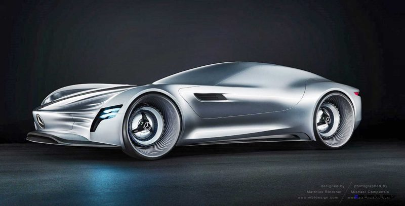 2020 Mercedes-Benz SL PURE Concept by Matthias Böttcher 15