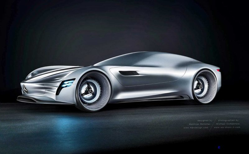 2020 Mercedes-Benz SL PURE Concept by Matthias Böttcher 18