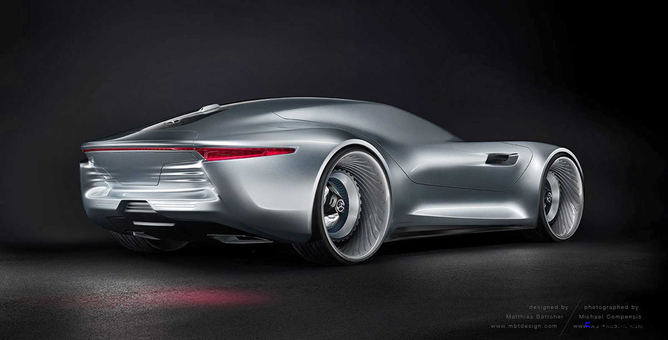 Mercedes Benz Sl Pure Concept By Matthias Bottcher