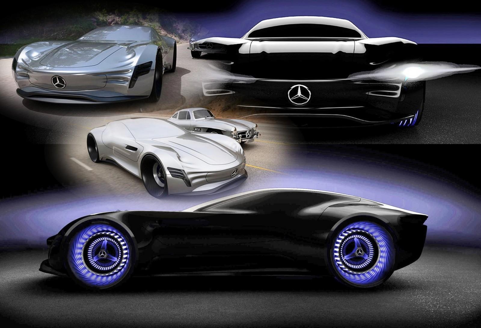 2020 Mercedes Benz Sl Pure Concept By Matthias B 246 Ttcher