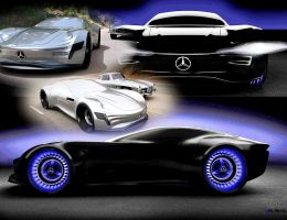 Design Talent Showcase – 2020 Mercedes-Benz SL PURE Concept by Matthias Böttcher