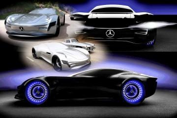 Design Talent Showcase - 2020 Mercedes-Benz SL PURE Concept by Matthias Böttcher