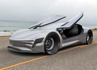 2020 Mercedes-Benz SL PURE Concept by Matthias Böttcher 8