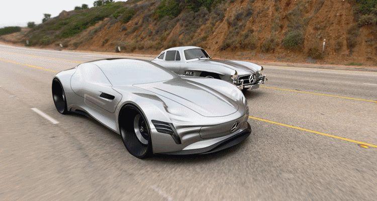 2020 Mercedes-Benz SL PURE Concept by Matthias Böttcher