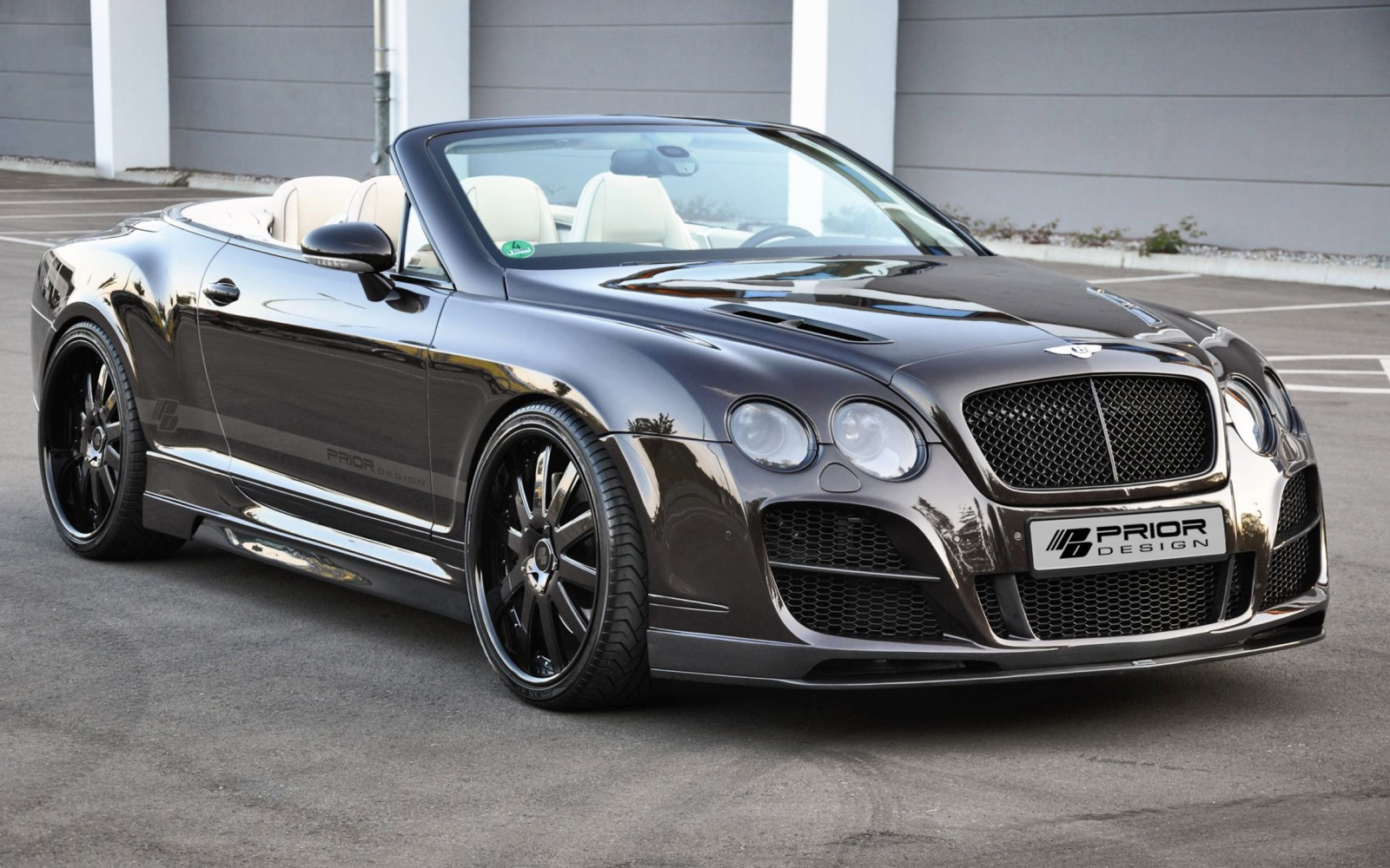 Bentley Continental Gtc By Prior Design